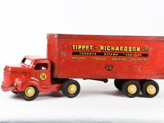 MINNITOYS TIPPET RICHARDSON TRANSPORT   UNRESTORED
