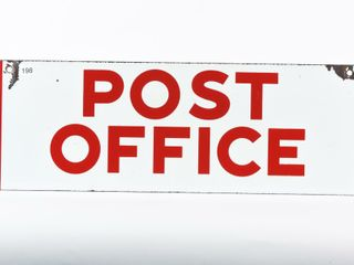 POST OFFICE SSP SIGN
