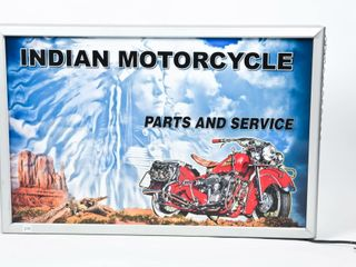 INDIAN MOTORCYClE PARTS   SERVICE lIGHT BOX  NEW