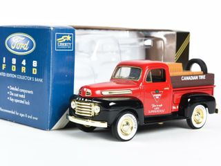CANADIAN TIRE 1948 FORD NO  5 COllECTOR BANK  BOX