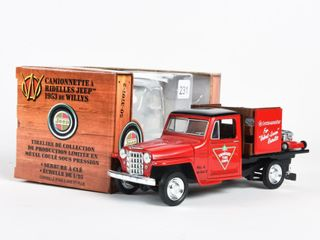 CANADIAN TIRE 1953 WIllYS JEEP STAKE TRUCK BANK