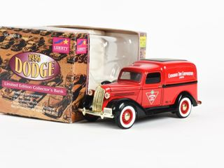 CANADIAN TIRE 1936 DODGE NO  4 COllECTOR BANK BOX