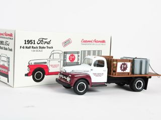 1993 FIRST GEAR 1951 FORD HAlF RACK STAKE TRUCK