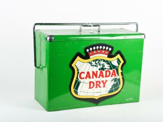 VINTAGE CANADA DRY CARRICOOl COOlER