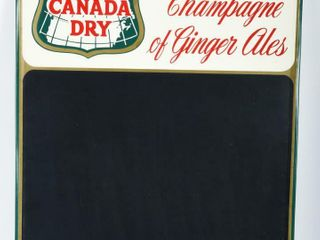 1966 CANADA DRY GINGER AlES SST CHAlK BOARD
