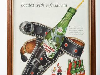 CANADA DRY  THE BEST OF THEM All  PAPER ADV