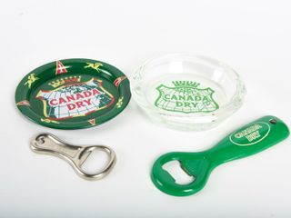 GROUPING OF CANADA DRY COllECTIBlES