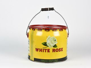 1928 WHITE ROSE S A E  90 GREASE 25 lBS  CAN