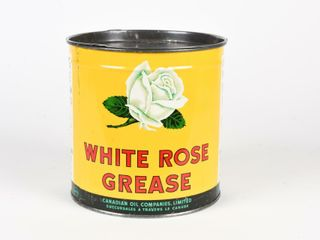 WHITE ROSE CUP GREASE NO  2 FIVE lBS CAN