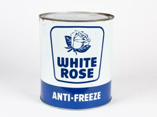 WHITE ROSE ANTI FREEZE GAllON CAN