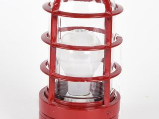 SAFETY lIGHT CAGED WITH ClEAR lENSE