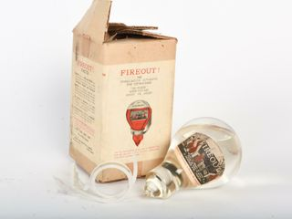 FIREOUT  DOUBlE ACTION AUTOMATIC FIRE EXTINGUISHER