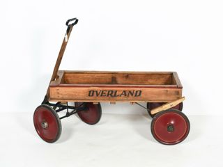 OVERlAND WOODEN WAGON