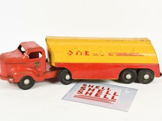 MINNITOYS SHEll FUEl TANKER  INC DECAlS