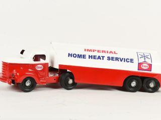 MINNITOYS ESSO HOME HEAT FUEl TANKER   RESTORED