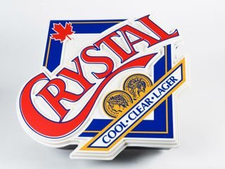 lABATT S CRYSTAl COOl ClEAR lAGER S S lIGHTBOX