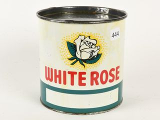 WHITE ROSE 5 lBS  GREASE CAN  FUll