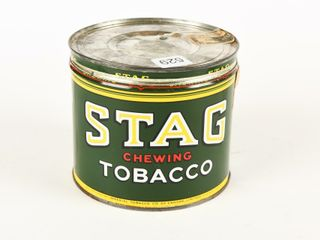 STAG CHEWING TOBACCO CUT OFF CAN