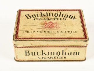 BUCKINGHAM CIGARETTES FIFTY SMAll CHEST