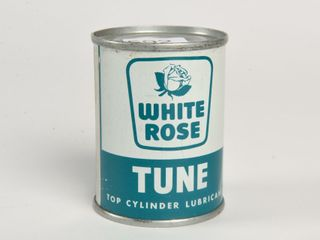 WHITE ROSE TUNE 4 OZ  CYlINDER lUBRICANT CAN FUll