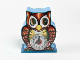 ORIGINAl WISE OlD OWl MECHANICAl PENNY BANK