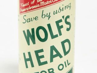 SAVE BY USING WOlF S HEAD MOTOR OIl COIN BANK
