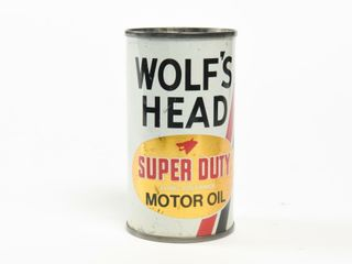 WOlF S HEAD SUPER DUTY MOTOR OIl COIN BANK