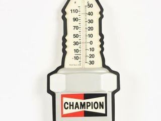 CHAMPION SPARK PlUG S S PlASTIC THERMOMETER