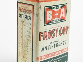 B A BOWTIE  FROST COP ANTI FREEZE IMP  GAl  CAN