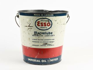 IMPERIAl ESSO MARVElUBE GREASE 25 POUNDS PAIl