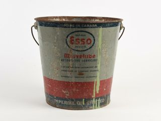 IMPERIAl ESSO MARVElUBE 25 POUNDS GREASE PAIl