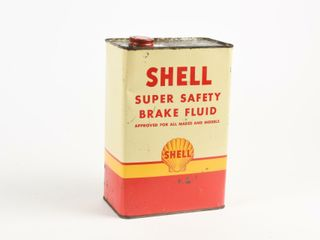 SHEll SUPER SAFETY BRAKE FlUID 128 Fl  OZS  CAN