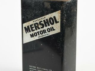 WAKEFIElD MERSHOl MOTOR OIl IMPERIAl GAllON CAN