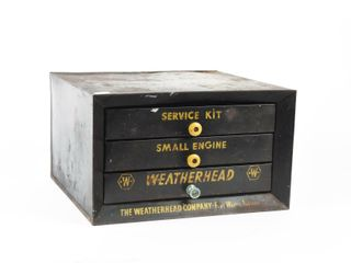 WEATHERHEAD METAl PARTS CABINET