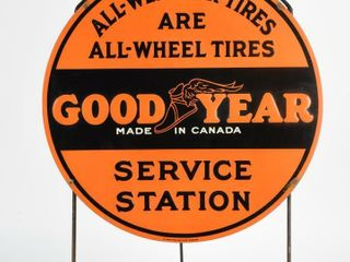 RARE 1922 GOODYEAR SERVICE STATION SST TIRE INSERT
