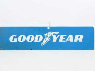 GOODYEAR D S PAINTED METAl SIGN