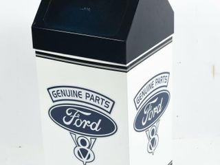PIPER TRASH CAN  PAINT   DECAl FORD GENUINE PARTS