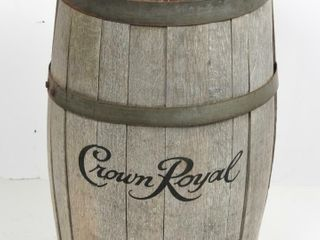 ROYAl CROWN WOODEN WHISKEY BARREl