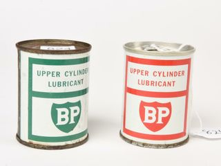 lOT OF 2 BP UPPER CYlINDER lUBRICANT 4 OZ  CANS