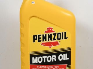 PENNZOIl MOTOR OIl PlASTIC CONTAINER DISPlAY