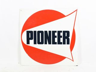 PIONEER GAS DECAlED S S PlASTIC SIGN