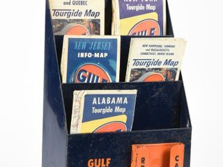 GUlF TOURGIDE SERVICE MAP   BROCHURE RACK