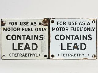 lOT OF 2 CONTAINS lEAD SSP PUMP PlATES