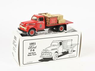 FIRST GEAR 1951 FORD F 6 HAlF RACK STAKE TRUCK BOX
