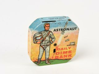 ASTRONAUT DAIlY DIME BANK