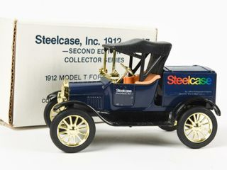 STEElCASE 1912 FORD MODEl T RUNABOUT BANK BOX