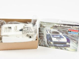 FORD MUSTANG GTP UNASSEMBlED MODEl KIT  BOX