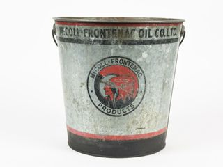 McCOll FRONTENAC PRODUCTS GREASE PAIl  NO lID