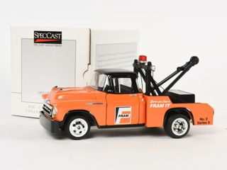 FRAM 1957 CHEVY TOW TRUCK NO  2  SERIES 3 BANK