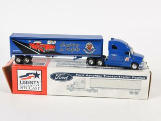 lIBERTY FRAM FORD AEROMAX TRACTOR TRAIlER BOX